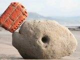 Balancing Sculptures Using Stones