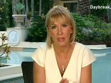 Nadine Dorries working from luxury Aussie hotel