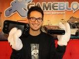 Julien Chièze déballe la Wii U Française... avec les gants de Mario/Mickey