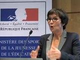Valérie Fourneyron lance le centre de ressources sport et développement durable