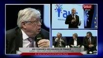 Congrès des Maires de France : Débat sur « L'école » en plateau et débat dans la salle sur «Le logement »