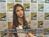 Nina Dobrev - The Vampire Diaries - Comic-Con 2012 [TR Altyazılı]