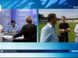 50 ans de TV en Aquitaine   Retour sur le match victorieux des Girondins de Bordeaux contre le Milan AC