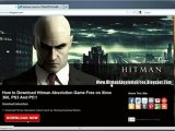 How to Install Hitman Absolution Game Free on Xbox 360 PS3 And PC