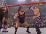 2001 WWE Raw Is War Chris Jericho vs Rhyno & Big Show