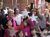 Noël sous la bonne étoile de l'UNICEF avec Mimie Mathy