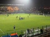 Echauffement  du match Beauvais-Chambly, groupe A CFA