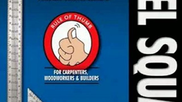 Crafts Book Review: Essential Guide to the Steel Square: Facts, Short-Cuts, and Problem-Solving Secrets for Carpenters, Woodworkers & Builders (Woodworker's Essentials & More) by Ken Horner