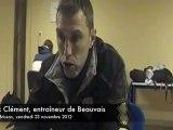 Beauvais-Chambly : réaction de l'entraîneur beauvaisien Alex Clément