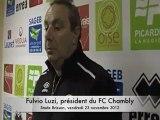 Beauvais-Chambly : réaction du président du FC Chambly
