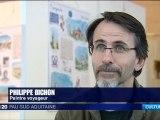 France3 Pau - Philippe Bichon - exposition mediatheque Pau
