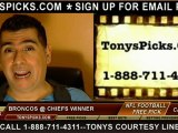 Denver Broncos versus Kansas City Chiefs Pick Prediction NFL Pro Football Odds Preview 11-25-2012