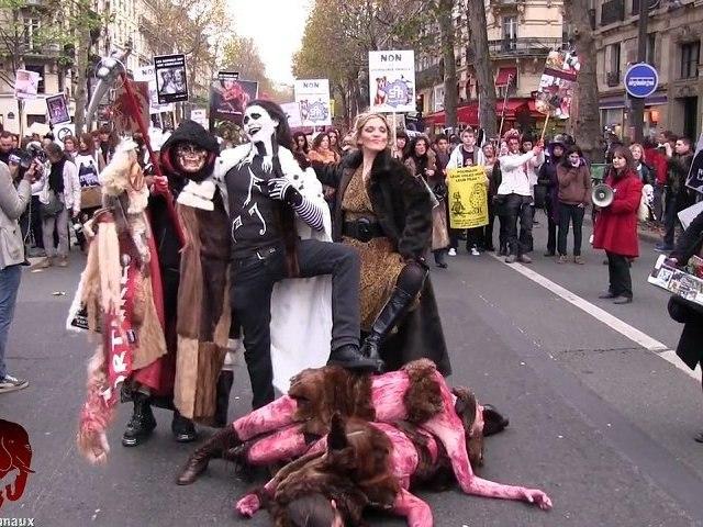 Marche contre la fourrure (24.11.2012)