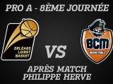 Réactions de Philippe Hervé - J08 - Réception du BCM Gravelines