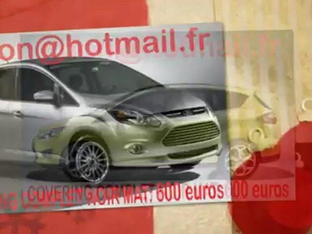 Ford C-Max, Ford C-Max, essai video Ford C-Max, covering Ford C-Max, Ford C-Max noir mat