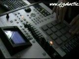 Beat making Video - Roland MV 8800 (Electro Beat)