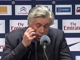 Conférence de presse Paris Saint-Germain - ESTAC Troyes : Carlo ANCELOTTI (PSG) - Jean-Marc FURLAN (ESTAC) - saison 2012/2013