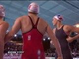 finale relais 4x50m 4 nages (F) Manaudou, Babou, Henique, Santamans (ChE pb 2012)