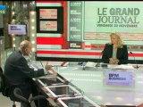 23/11 BFM : Le Grand Journal d'Hedwige Chevrillon - Pierre-Franck Chevet et François Auque 3/4