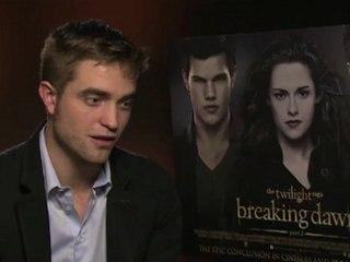 Robert Pattinson Interview -- The Twilight Saga: Breaking Dawn - Part 2