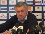 """Coupe de la Ligue / Ancelotti : """"Saint-Etienne est une très belle surprise"""""""