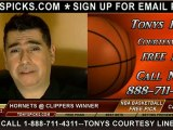New Orleans Hornets versus LA Clippers Pick Prediction NBA Pro Basketball Odds Preview 11-26-2012