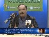 Copei: es importante que el gobierno dé un mensaje positivo con la liberación de presos políticos