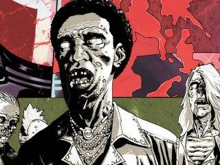 CGR Comics - THE WALKING DEAD VOL. 5: THE BEST DEFENSE comic review