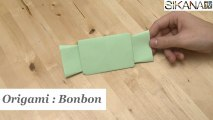 Origami : Comment faire un bonbon en papier ? - HD