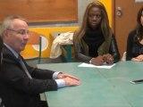 interview de Michel TERROT Député du Rhône Par les élèves du Lycée Orsel