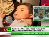 Hamas chief held peace deal draft as IDF strike smashed his car - reports
