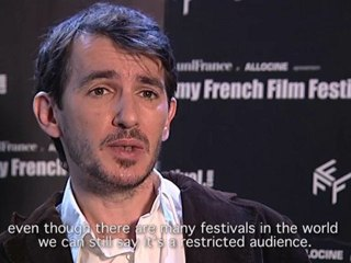 myFFF 2013  Interview - Franck Dion - Edmond était un âne (Edmond was a donkey)