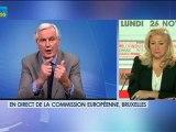 26/11 BFM : Le Grand Journal d'Hedwige Chevrillon - Michel Barnier et Jean-David Chamboredon 1/4