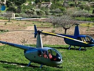 Mallorca - Flug mit Heli über die Insel