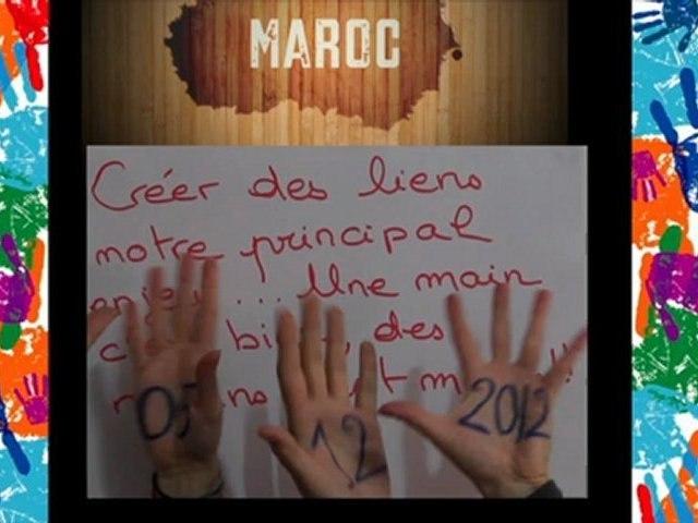 Journée Internationale des Volontaires au MAROC - 2012