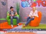 Vesna Zmijanac - U emisiji Maximalno Opusteno (25 11 2012) DM SAT