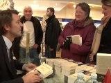 François Baroin attire une foule de lecteurs (Troyes)