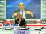 27/11 BFM : Le Grand Journal d'Hedwige Chevrillon - Angel Gurría et Didier Quillot 1/4