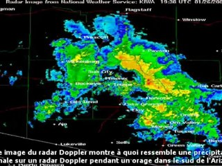 CHEMTRAILS vu par un radar doppler (French)