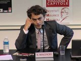 """""""La doctrine, la QPC et le Conseil constitutionnel : quelle distance ? Quelle expertise ?"""", Xavier Magnon, professeur à l'Université Toulouse 1 Capitole"""