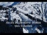 Station de ski Jarrier les Bottières Les sybelles