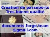 Création et vente de faux passeport, faux papiers, etc.