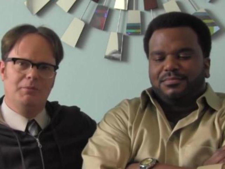 Rainn Wilson of The Office Parodies Angus T. Jones