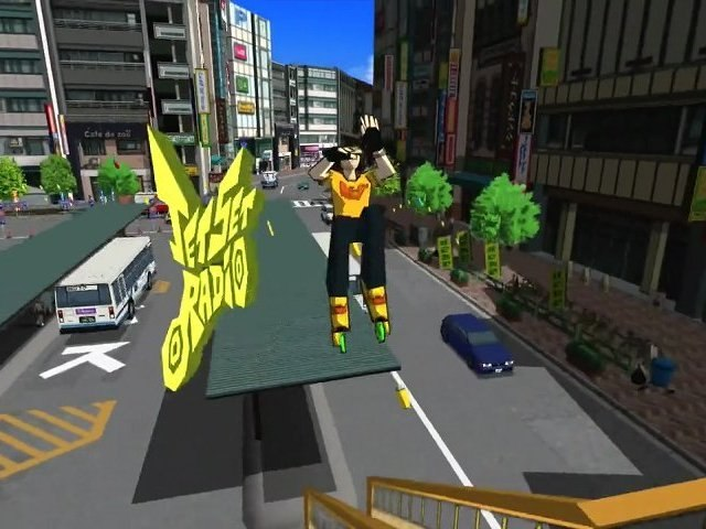 [First Grip] #9 Jet Set Radio sur Xbox Live Arcade by Bebette