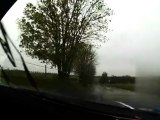Eric Brunson David Heulin Rallye du Condroz 2012 ES1 Fumal Subaru WRC S12B