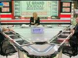 28/11 BFM : Le Grand Journal d'Hedwige Chevrillon - François Brottes et Jérôme Chartier 2/4