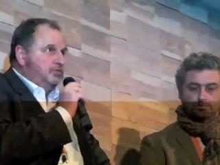 Goulven Brest, président des ostréiculteurs français, lance le Mondial de l'huître sur le bassin d'Arcachon