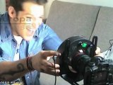 Tenorio graba su nuevo vídeo acompañado de cómicos