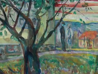Edvard Munch – Anxiety, at Aarhus Kunstmuseum