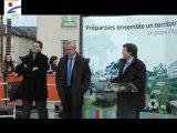 Inauguration du marché du Quai du Roi à Orléans - Intervention de Serge Grouard